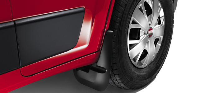 FRONT RUBBER MUD FLAPS