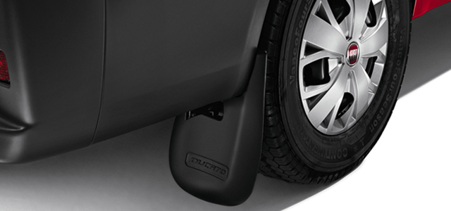 REAR RUBBER MUD FLAPS