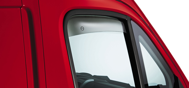 WIND DEFLECTORS FOR FRONT SIDE WINDOWS