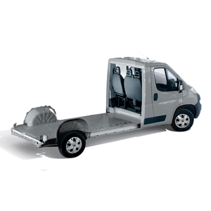 CHASSIS CAB WITH PLATFORM