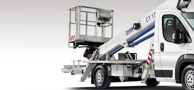 THE DUCATO WITH TELESCOPIC AERIAL PLATFORM