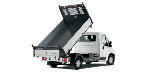 TRUCK WITH FLAT-BED TIPPE