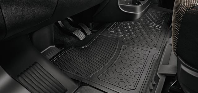 Front rubber mats