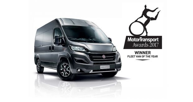 "Ducato named ""Fleet Van of the Year 2017"" in Great Britain"